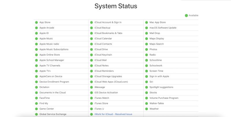 Nếu có dấu hiệu màu xanh lá cây gần biểu tượng Cập nhật phần mềm trong danh sách.  macOS Big Sur Sự cố
