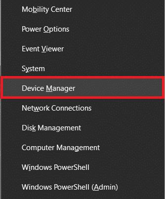 chọn Trình quản lý thiết bị    Sửa lỗi Minecraft không ghi được Core Dump