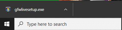 Nhấp đúp vào tệp bạn đã tải xuống ngay bây giờ | Sửa lỗi không tìm thấy Fallout 3 Ordinal 43