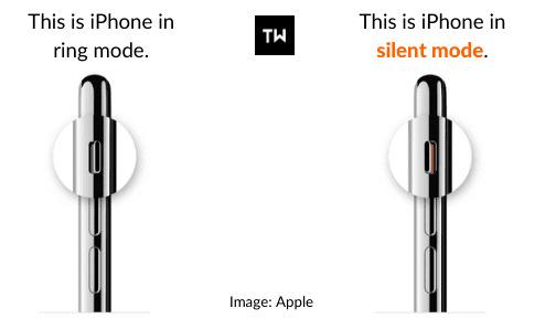 Sử dụng Chế độ Im lặng để Tắt Camera và Âm thanh Ảnh chụp màn hình