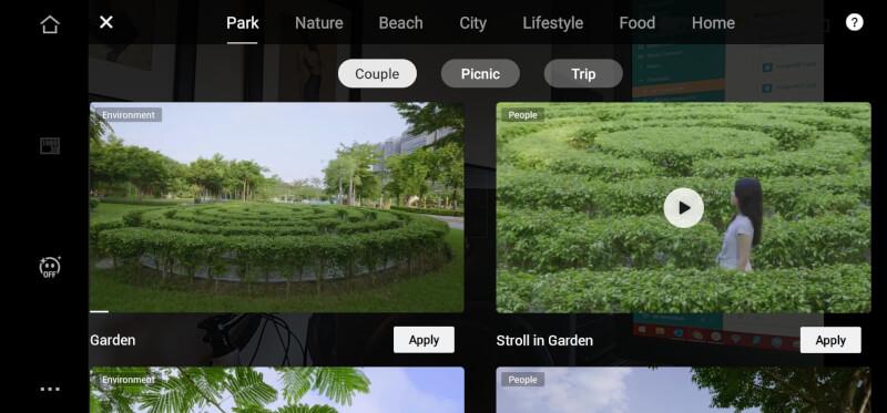 DJI Mimo Shot Guides Ảnh chụp màn hình 4