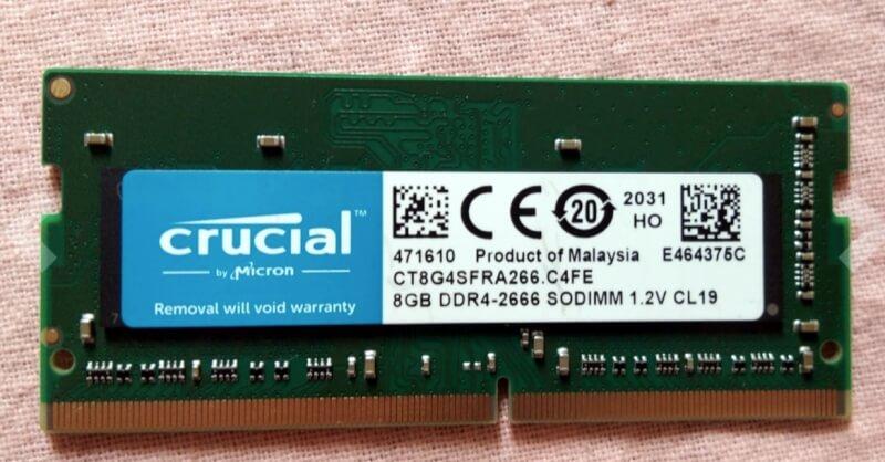 8GB DDR4 2666 MHz
