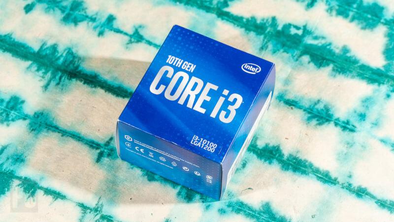 Hộp Intel Core i3-10100