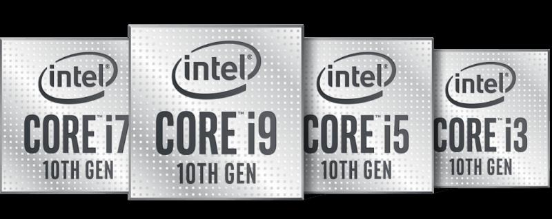 Hình ảnh biểu trưng của dòng CPU Intel thế hệ thứ 10
