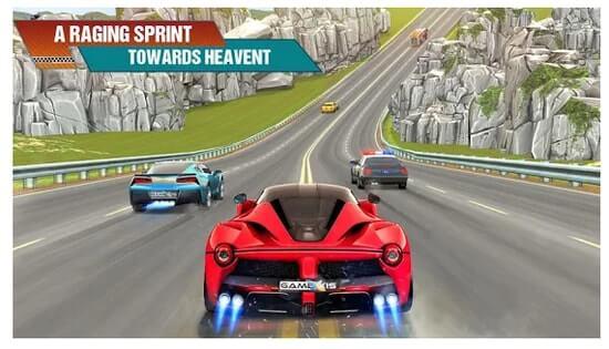 Trò chơi đua xe điên cuồng giao thông